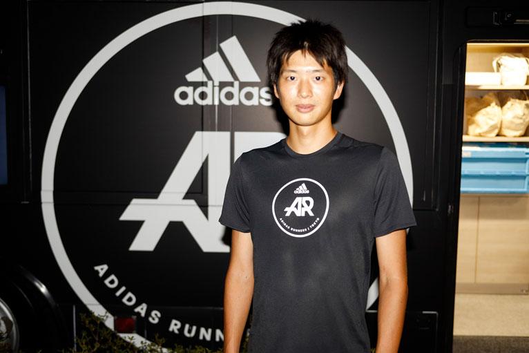 TAKUYA氏 AR(アディダスランナーズ)キャプテン
