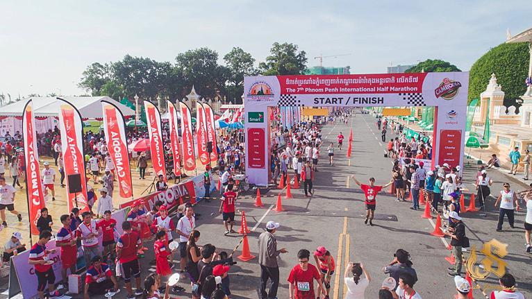 カンボジアのマラソン大会「プノンペン国際ハーフマラソン」